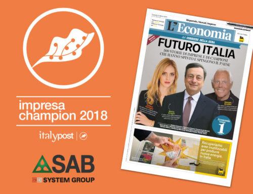 "SAB among the best 500 Italian companies ""Top Performer"""