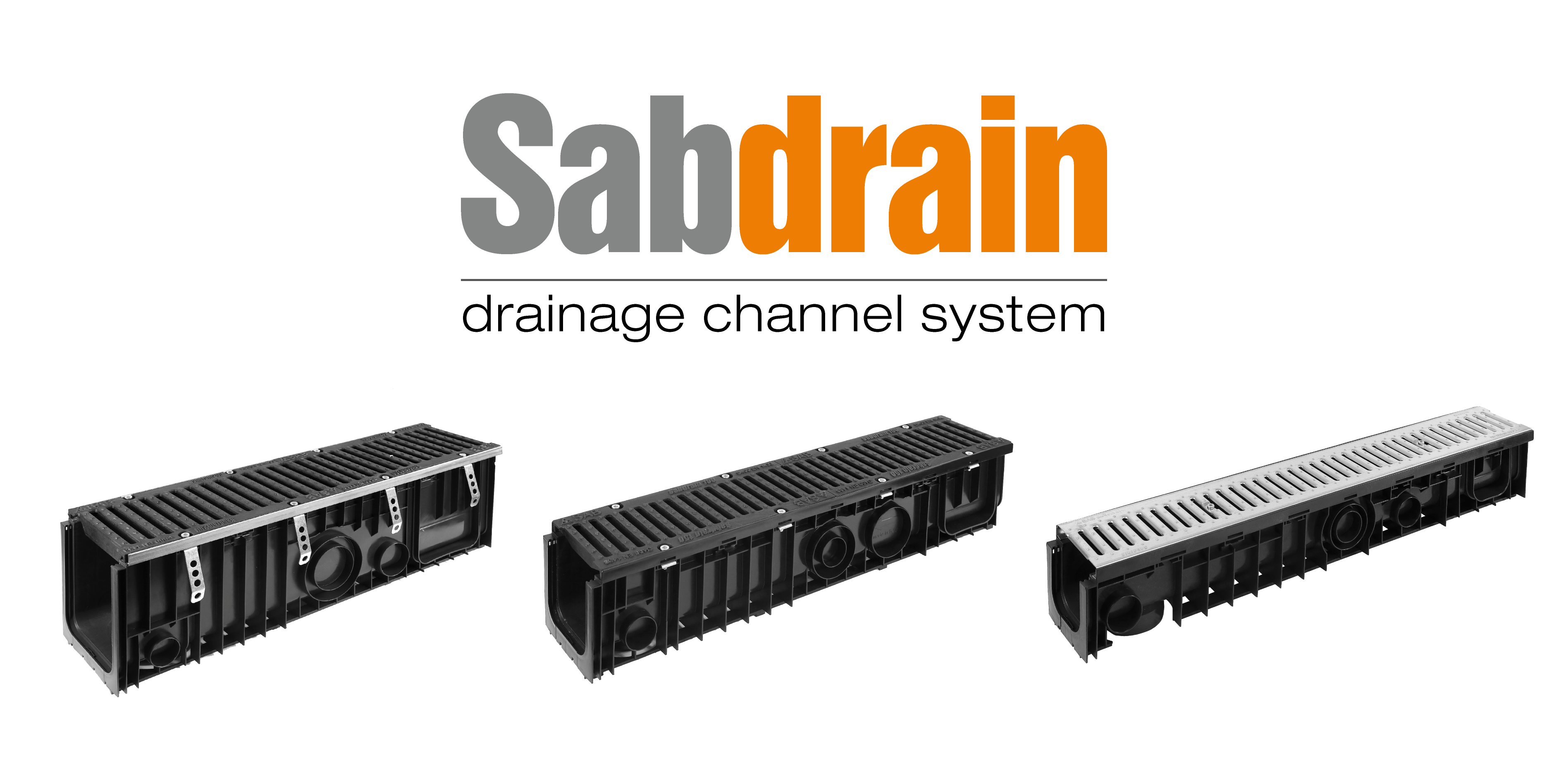 Sabdrain - drainage channel system