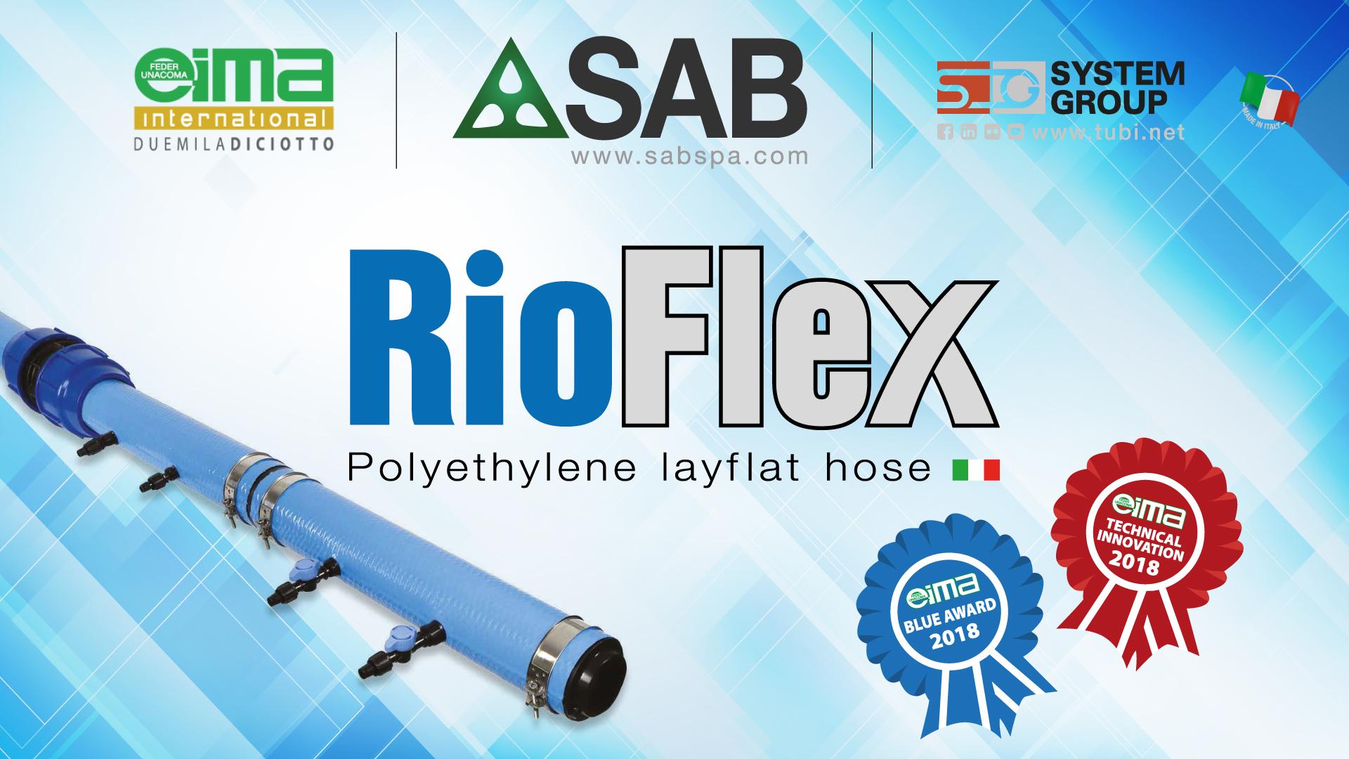 RioFlex - premiato ad EIMA