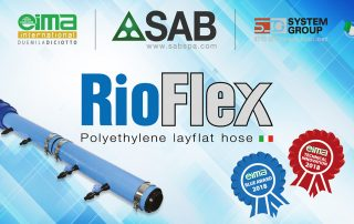RioFlex - awarded at EIMA