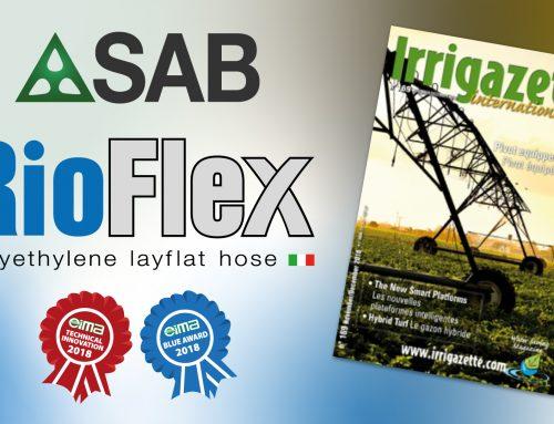 SAB y el nuevo Rioflex en Irrigazette