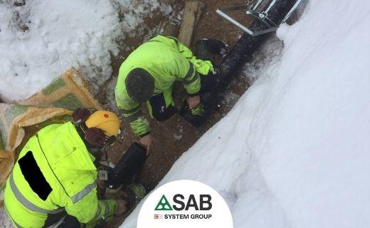 temperatura e problemi nell'installazione di tubi e raccordi