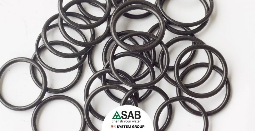 O-ring seal gasket for compression fittings